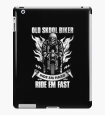 Vinilo o funda para iPad Old Skool Biker
