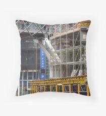 city mesh Throw Pillow