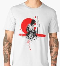 Trash Polka - Female Samurai Men's Premium T-Shirt