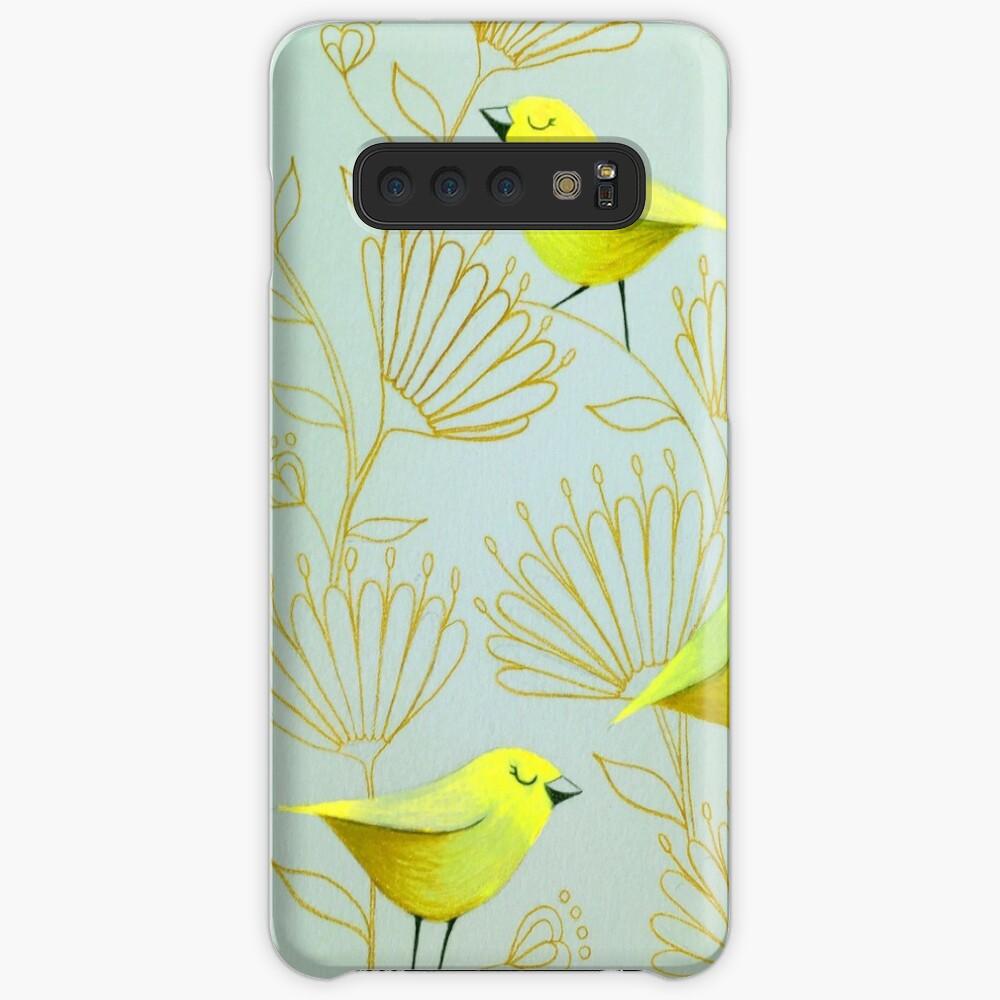 Golden birds Case & Skin for Samsung Galaxy