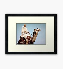 Lawrence of Arabia 1962 Peter o'Toole on a camel Framed Print