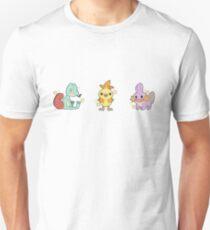 Pokémon   Shiny Hoenn Starters Unisex T-Shirt