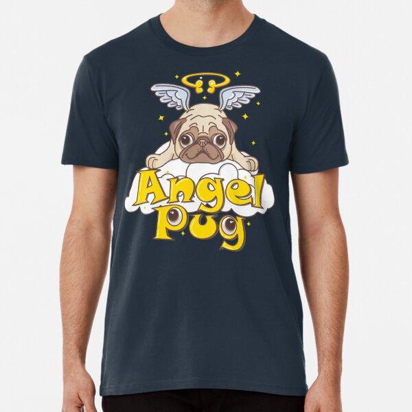 Angel Pug Premium T-Shirt