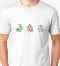 Pokémon   Shiny Sinnoh Starters  Unisex T-Shirt