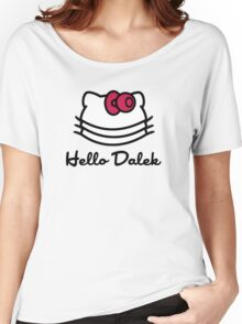 Hello Dalek Women's Relaxed Fit T-Shirt