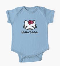 Hello Dalek One Piece - Short Sleeve