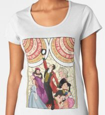 the greatest show Women's Premium T-Shirt