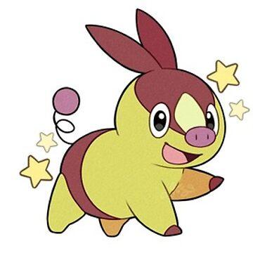 Pokémon   Shiny Unova Starters by ShinyBunnie