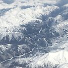Southern Siberia from the air by Michael Matthews