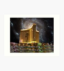 Mandalay Bay & Galaxy M101 Art Print