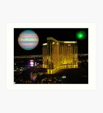 Mandalay Bay and Jupiter Art Print