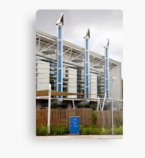 Eco building Metal Print