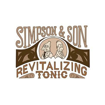 Simpson and Son Revitalizing Tonic Classic Comedy Homage by landobry