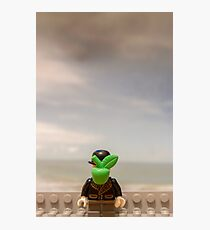 The Son of Lego Photographic Print