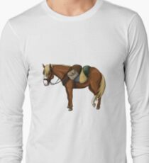 Lord of the Rings: Bill the Pony (without text) Long Sleeve T-Shirt