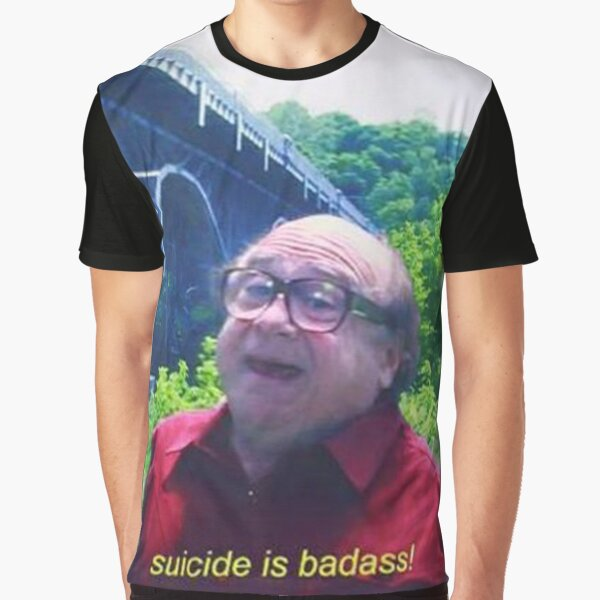 Suicide is Badass Graphic T-Shirt