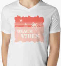 Beach Vibes Men's V-Neck T-Shirt
