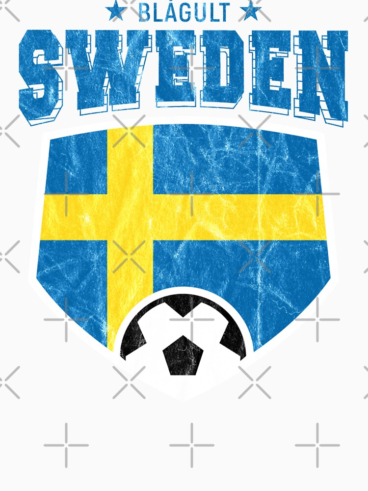 543187d70 2018 Sweden Football T Shirt World Soccer Jersey Cup