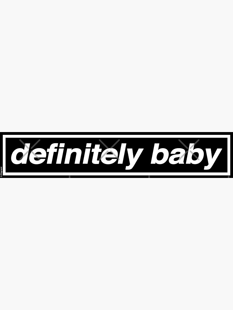 Definitiv Baby - OASIS Band Tribut von phigment-art