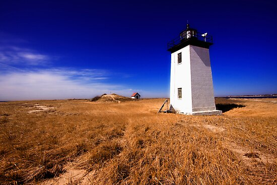 Long Point Light Cape Cod by Artist Dapixara