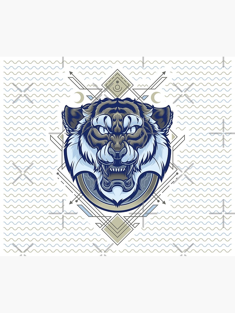Tiger Geometric by angoes25