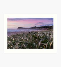 Pastel Morning Tones - Lennox Head Art Print