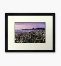 Pastel Morning Tones - Lennox Head Framed Print