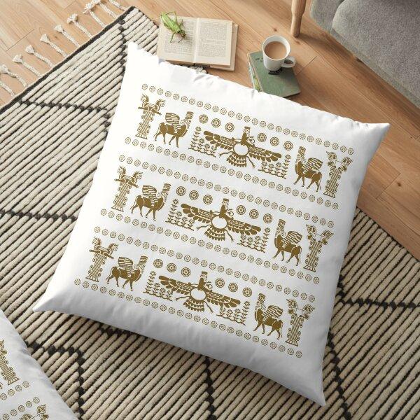 Apadana Persian Persepolis Floor Pillow