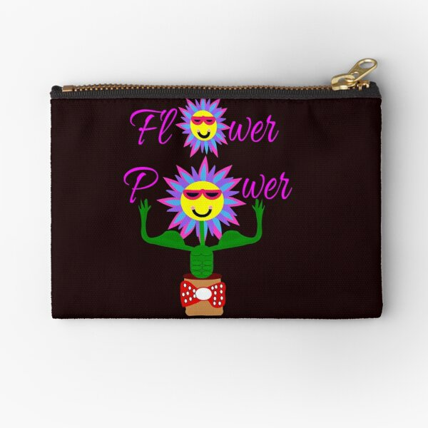 Flower Power, power of the flower Zipper Pouch