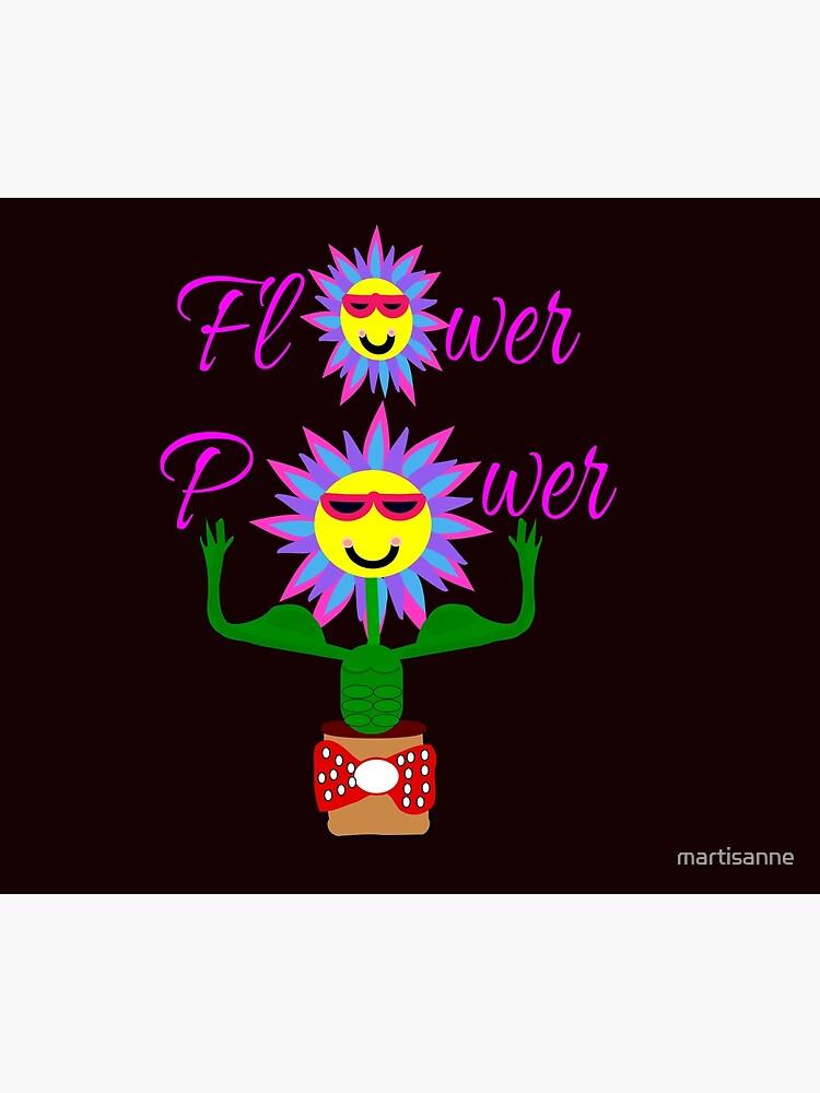 Flower Power, power of the flower by martisanne