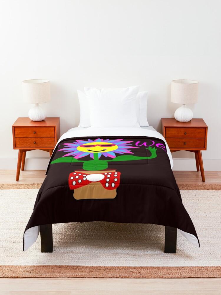 Alternate view of Flower Power, power of the flower Comforter
