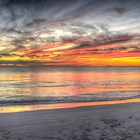 Sunset at Sandy Cape by BigAndRed