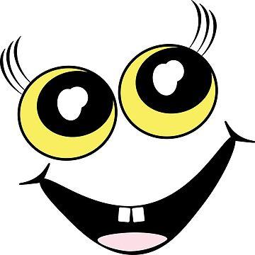 keep smiling by victoriaArt