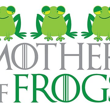 Mother of FROGS by jazzydevil