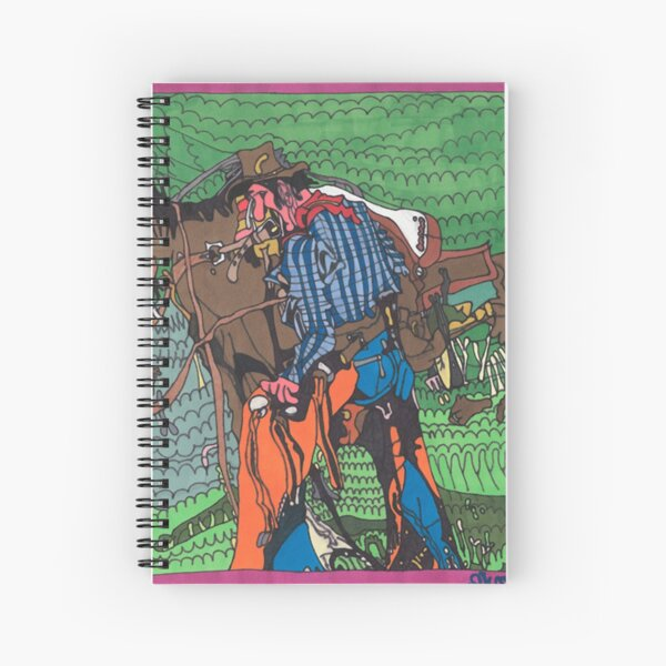 One of a Kind Cowboy Spiral Notebook