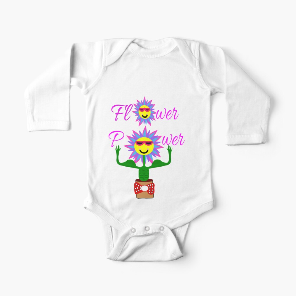 Flower Power, power of the flower Baby One-Piece