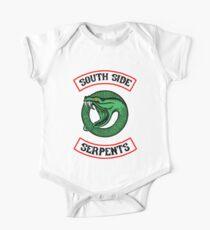 Riverdale Southside Schlangen inspiriert auf der Rückseite neues rundes Kreislogo Baby Body Kurzarm