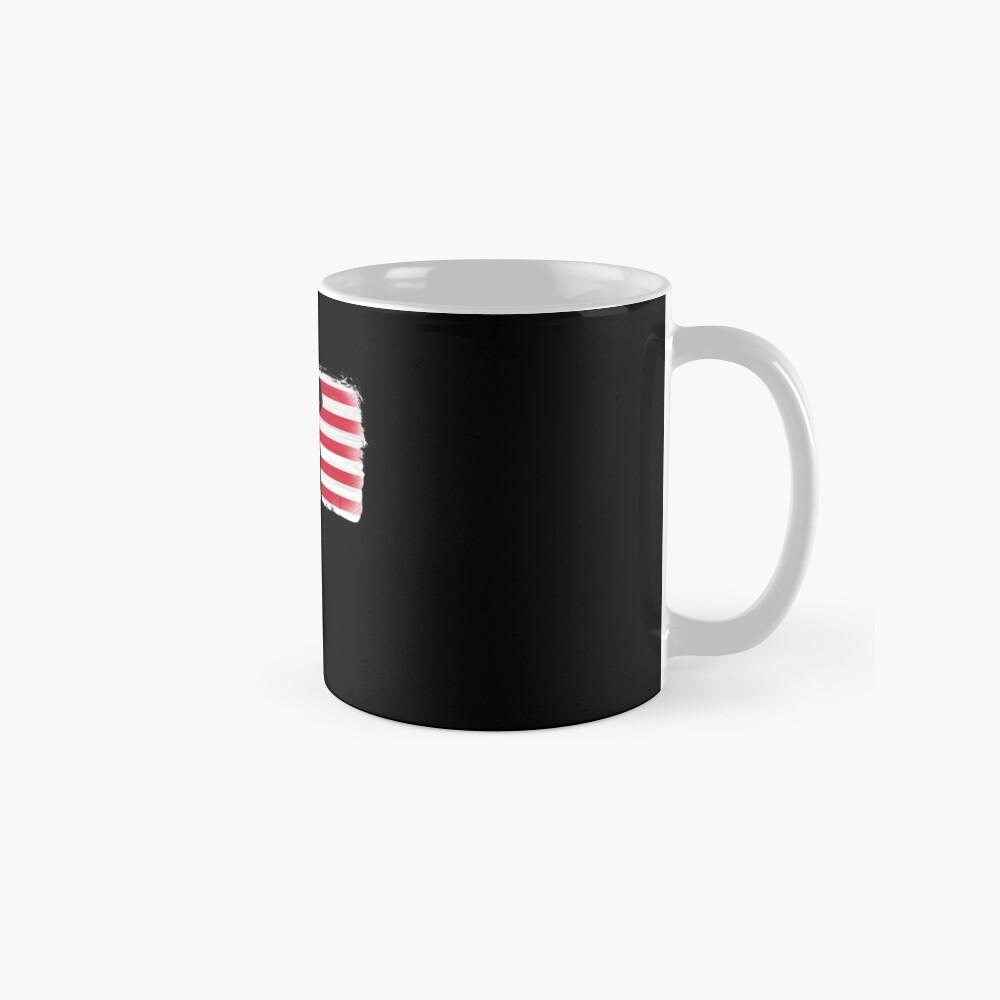 American Flag Basketball Player Mug