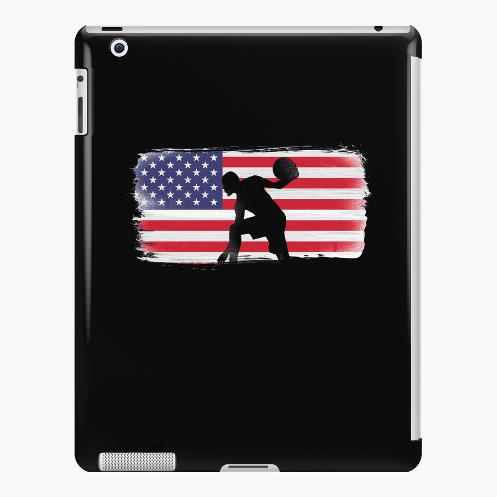 American Flag Basketball Player iPad Case & Skin