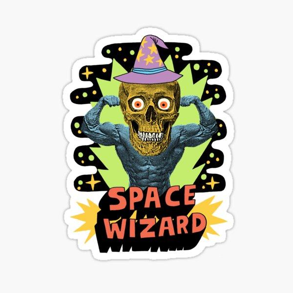 SPACE WIZARD Sticker
