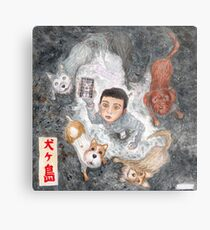 Isle of Dogs Metal Print