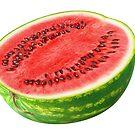 Cut watermelon by 6hands