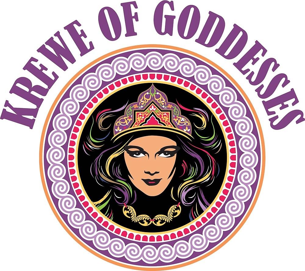 Krewe of Goddesses Logo by kreweofgoddess