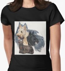 Scottish Terrier Grouping Women's Fitted T-Shirt