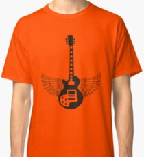 Guitar with wings Classic T-Shirt