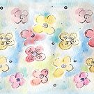 Spring Doodle Flowers by Filomena Jack