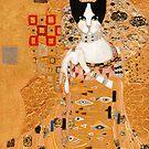 Klimt Cat by Ryan Conners