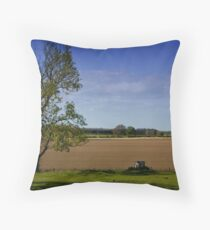 Northumberland Field Throw Pillow