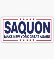 Saquon MNYGA! Sticker