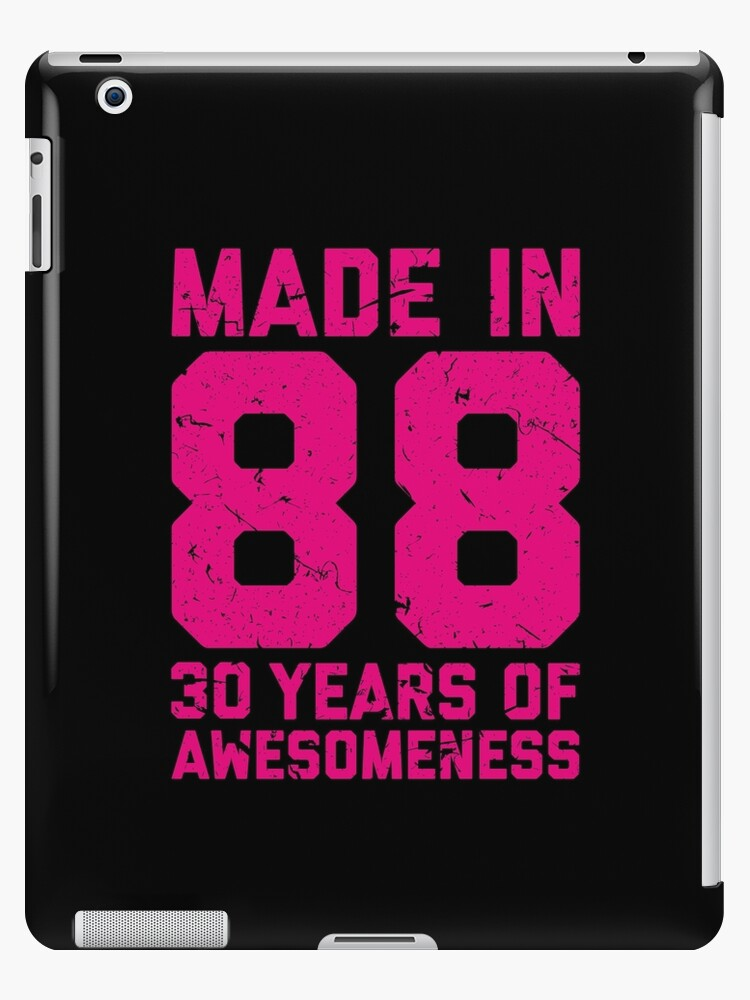 30th Birthday Gift Adult Age 30 Year Old Women Womens IPad Cases
